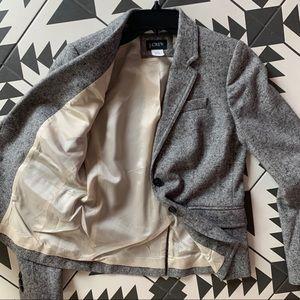 J crew wool tweed blazer 2. NWOT